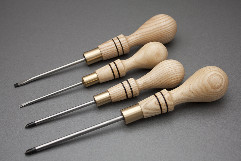 1 - Ash Screwdriver Set