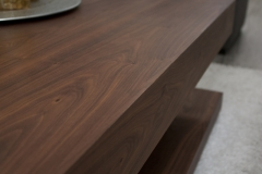 3 - Black Walnut Coffee Table
