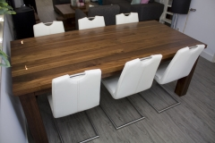 2 - Black Walnut Dining Table