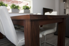3 - Black Walnut Dining Table