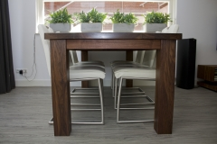 5 - Black Walnut Dining Table