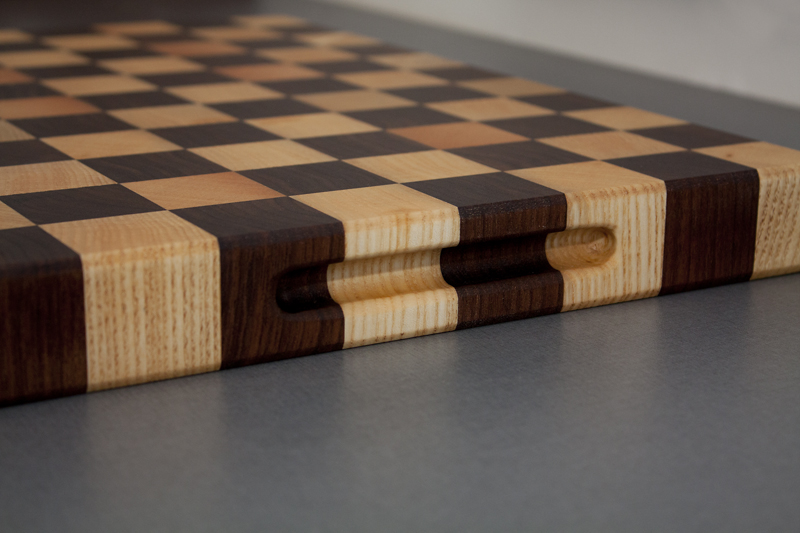 3 - Black Walnut with Ash end grain Cutting Board