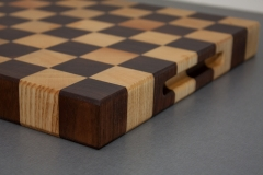 1 - Black Walnut with Ash end grain Cutting Board