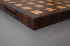 2 - Black Walnut with Hard Maple end grain Cutting Board