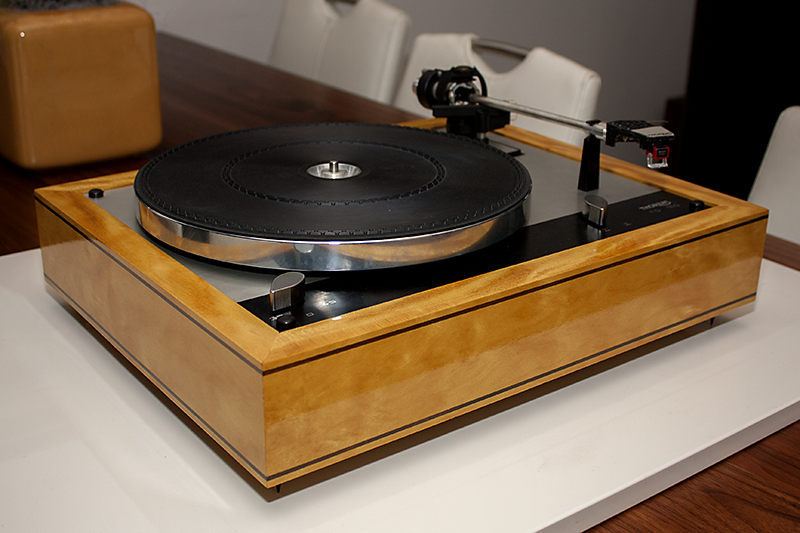2 - Thorens TD160 plinth Yellowheart