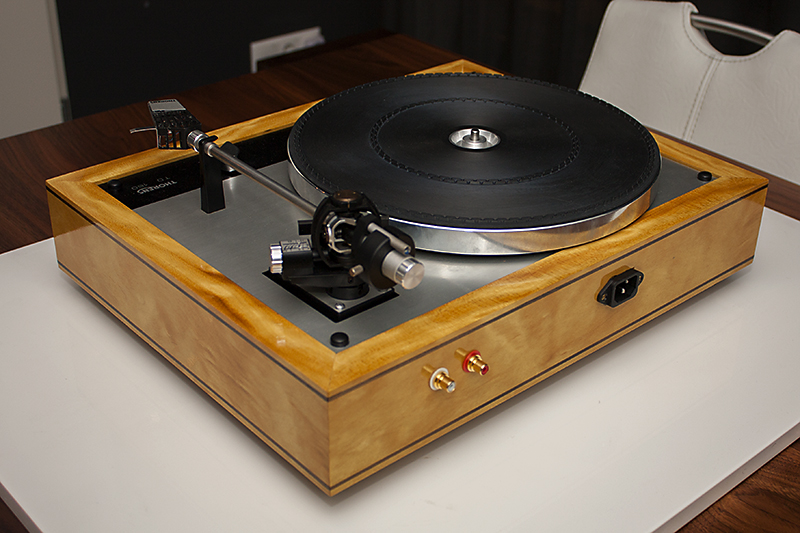 3 - Thorens TD160 plinth Yellowheart
