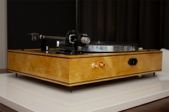 4 - Thorens TD160 plinth Yellowheart
