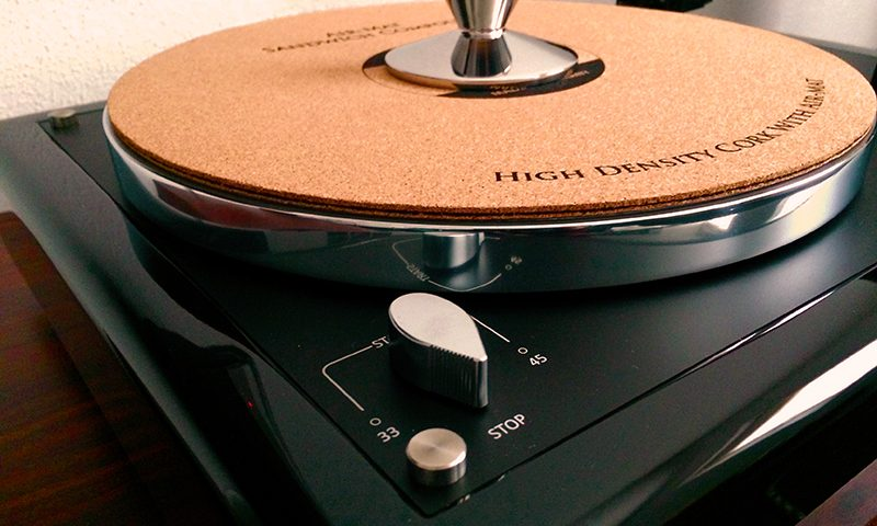 Black High Gloss Plinth Thorens TD160 MK1