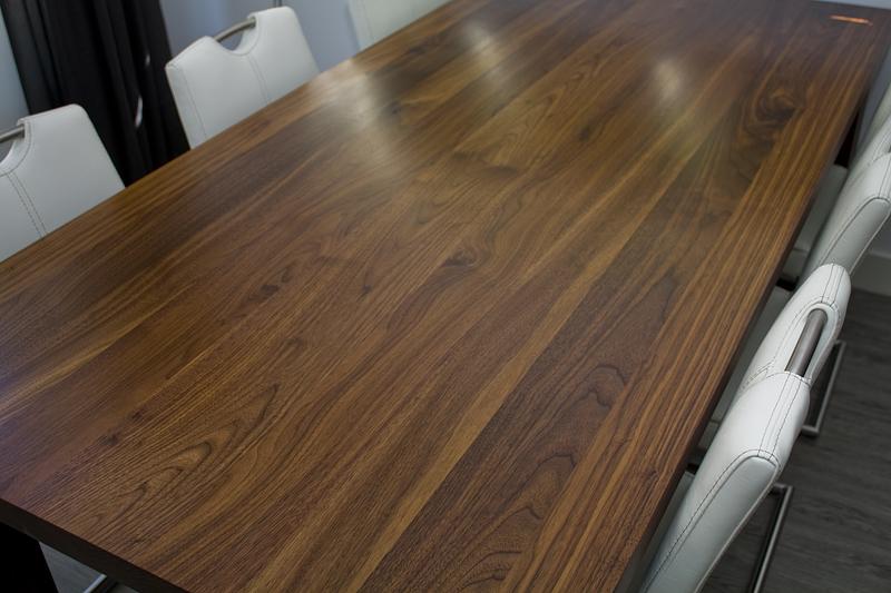 1 - Black Walnut Dining Table