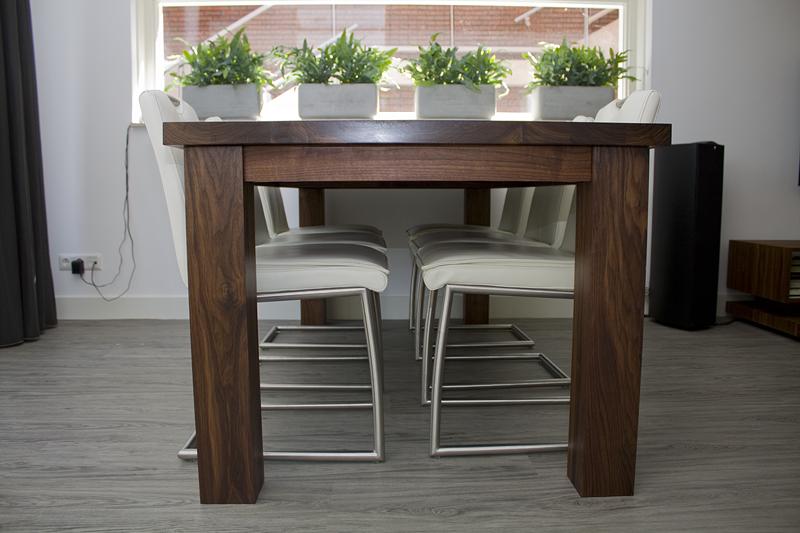 5 - Black Walnut Dining Table