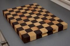 2 - Black Walnut with Ash end grain Cutting Board