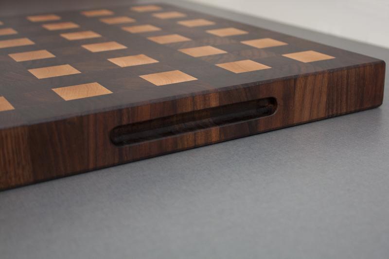 3 - Black Walnut with Hard Maple end grain Cutting Board