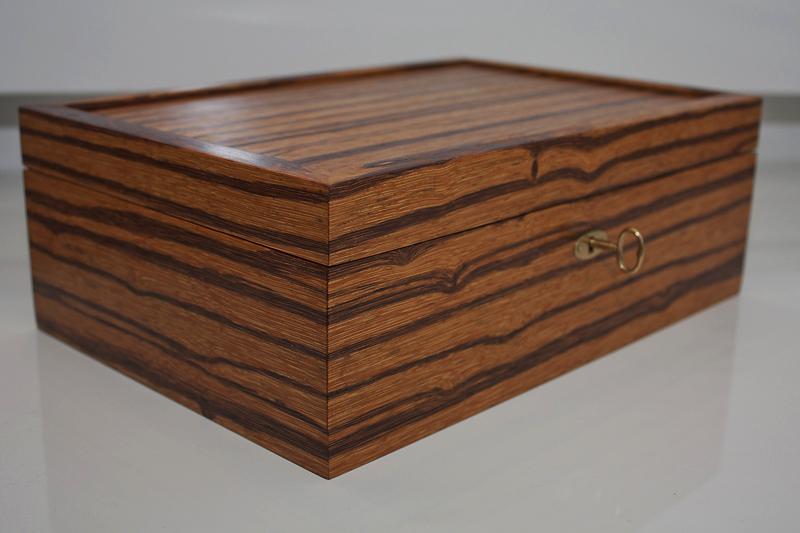 1 - Tea Box from Marblewood
