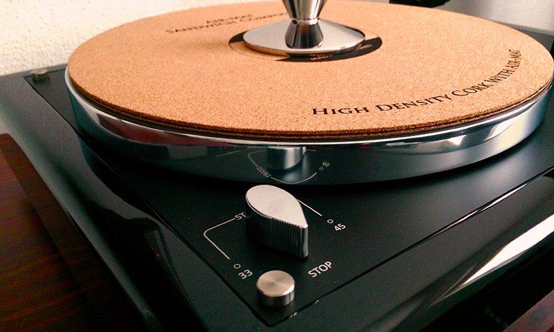 Black High Gloss Plinth Thorens TD160 MK1